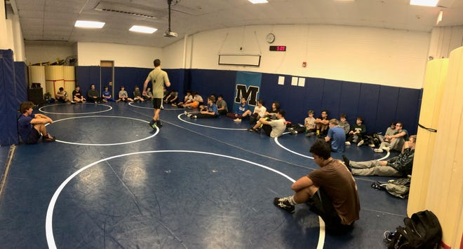 The Metuchen High School wrestling room is filling up under second-year head coach Joe Keagle