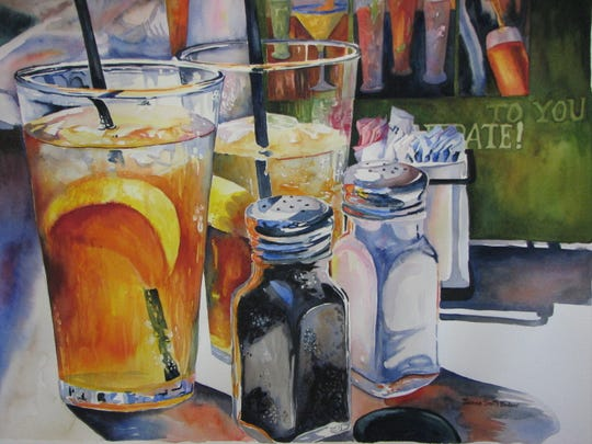 """Bernardsville Public Library will present """"Landscapes, Florals and Still-Lifes in Watercolor and Pastel,"""" an exhibition of paintings by Joanne Bodnar, a resident of the Whitehouse Station section of Readington. The show will be on view in the library's Community Room from Thursday, Jan. 3, to Wednesday, Jan. 30."""