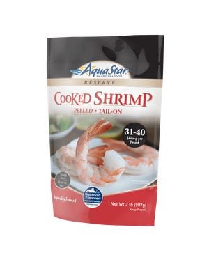 Kroger is recalling nine Aqua Star cooked shrimp products because they may be raw.