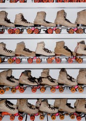 Admission and skate rentals at Detroit's Rainbow City Roller Rink are both free, but online reservations are required.