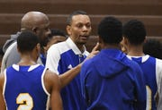 Detroit Pershing High coach Shawn Hill has deep ties to his alma mater.