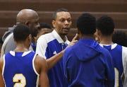 Detroit Pershing High coach Shawn Hill has deep ties to his alma mater.