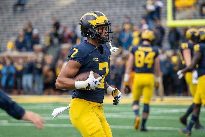 Michigan receiver Tarik Black has recorded two passes for 20 yards in five game this season.