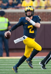 Shea Patterson was able to get a waiver from the NCAA to play immediately for Michigan after transferring from Ole Miss.