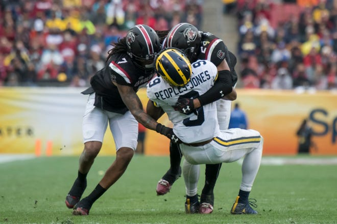 Michigan capped last season with a 26-19 loss to South Carolina in the Outback Bowl.