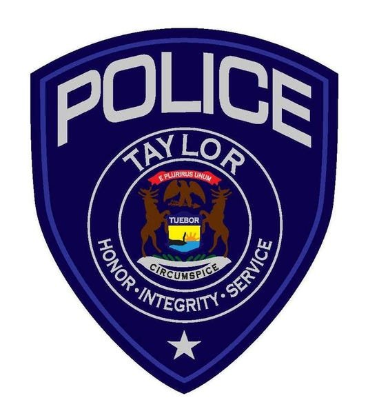 Taylor police department logo