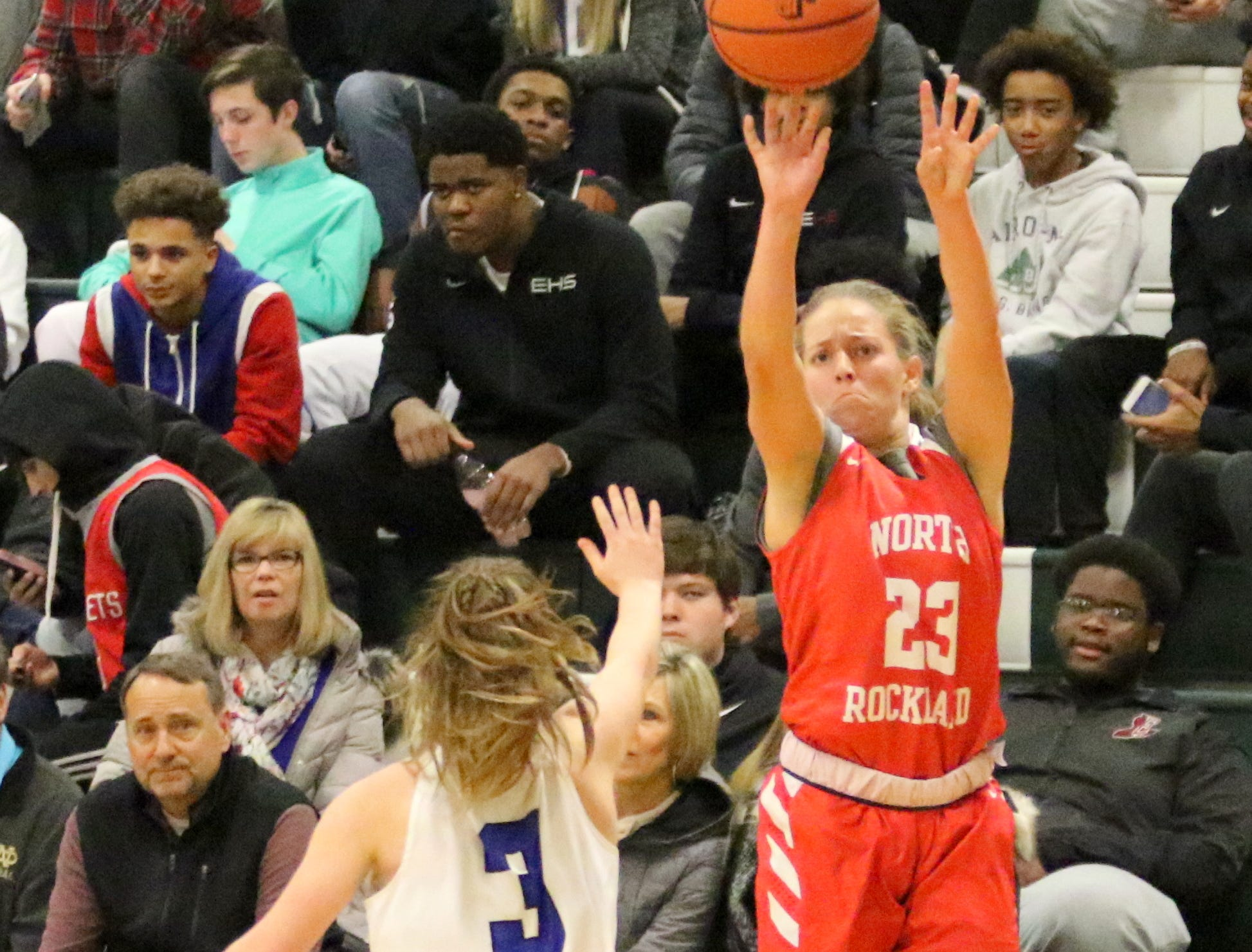 North Rockland was a 43-41 winner over Horseheads in a girls quarterfinal at the Josh Palmer Fund Elmira Holiday Inn Classic on Dec. 27, 2018 at Elmira High School.