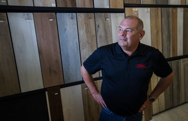 Jeff Shawver is co-owner of Direct Flooring in Cape Coral.