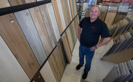 Jeff Shawver opened Direct Flooring in Cape Coral 10 years ago,