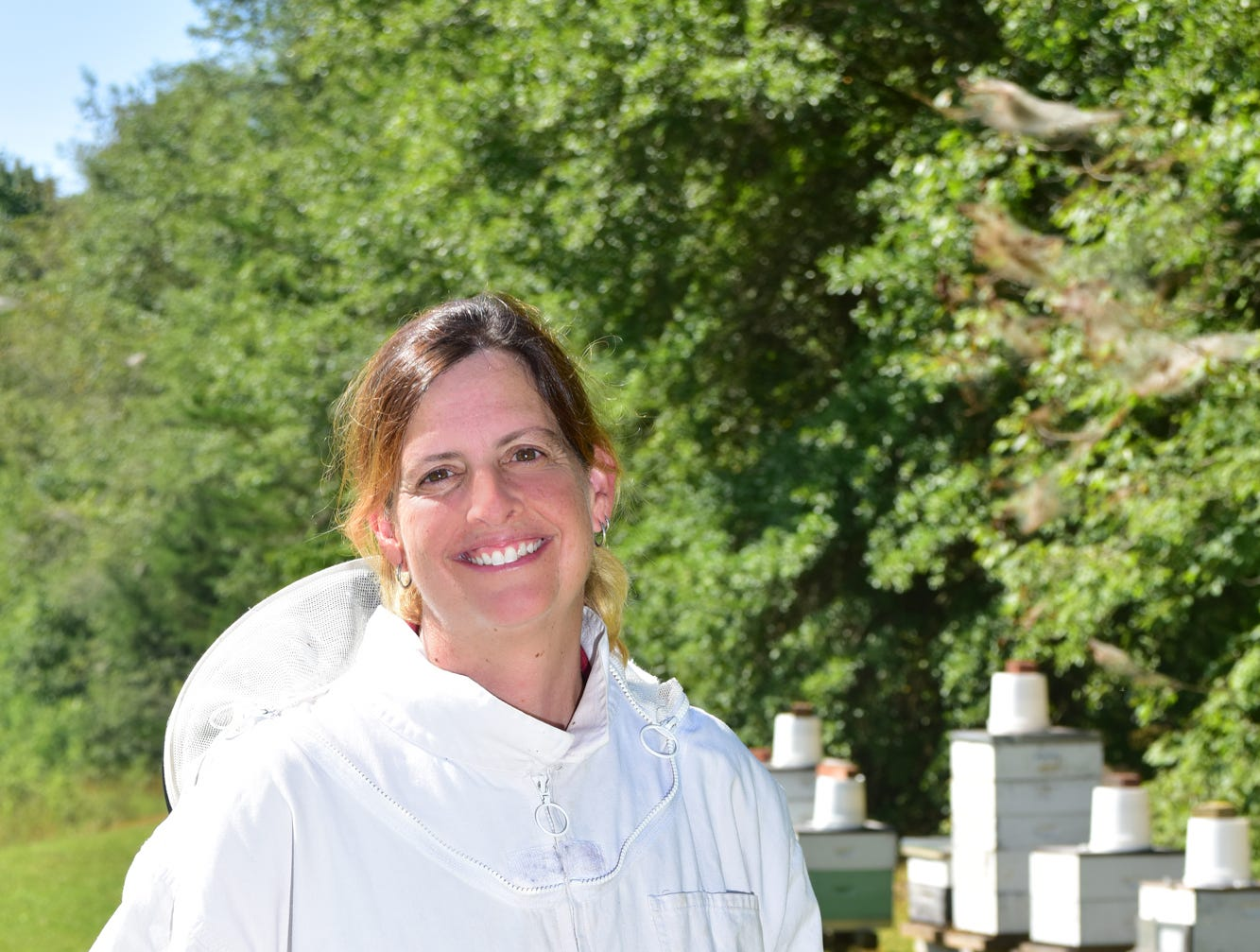 Susan Gardner, co-owner/operator of The Carolina Honey Bee Co, was the 15 Minutes With feature for the Septemeber issue of TALK.