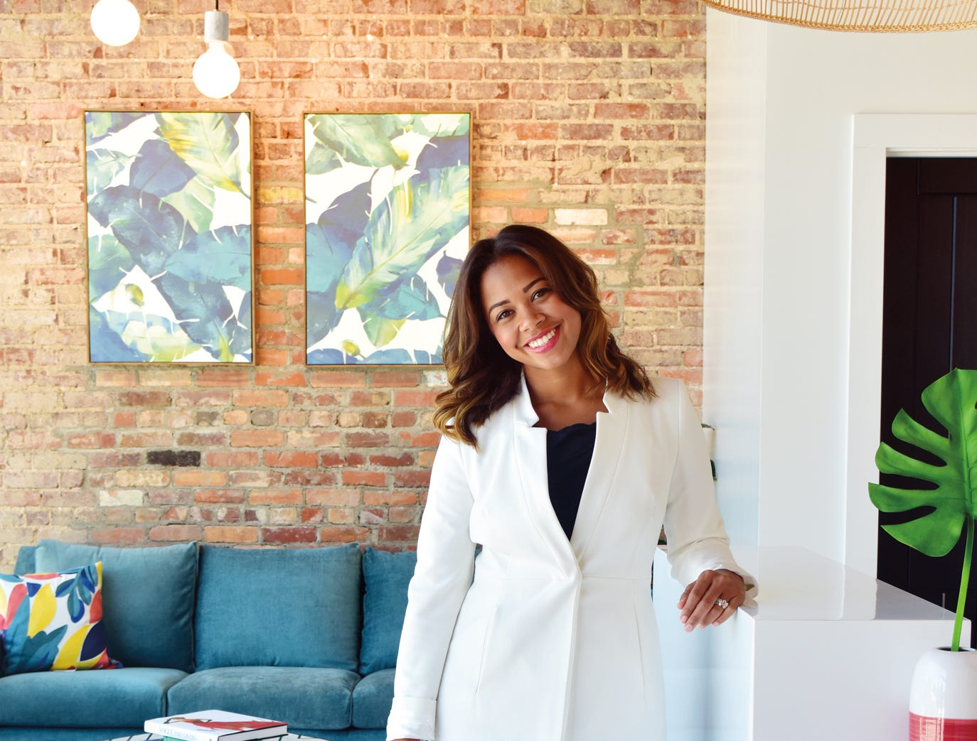 Dentist Natasja Bevins is the owner of Bijou Dental Spa that is open in the West End of downtown Greenville.