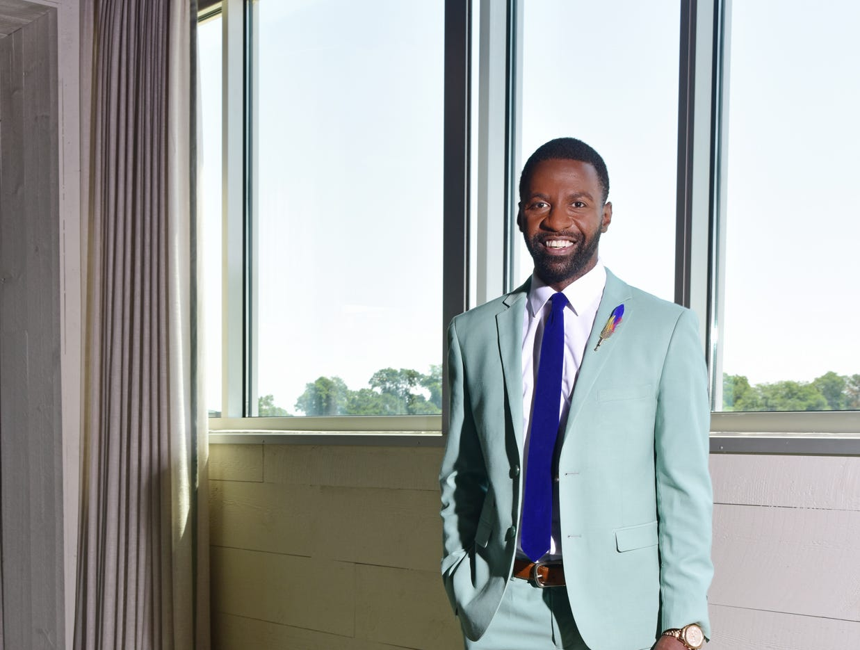 Jamarcus Gaston was name one of TALK  Greenville's 10 Most Fashionable.