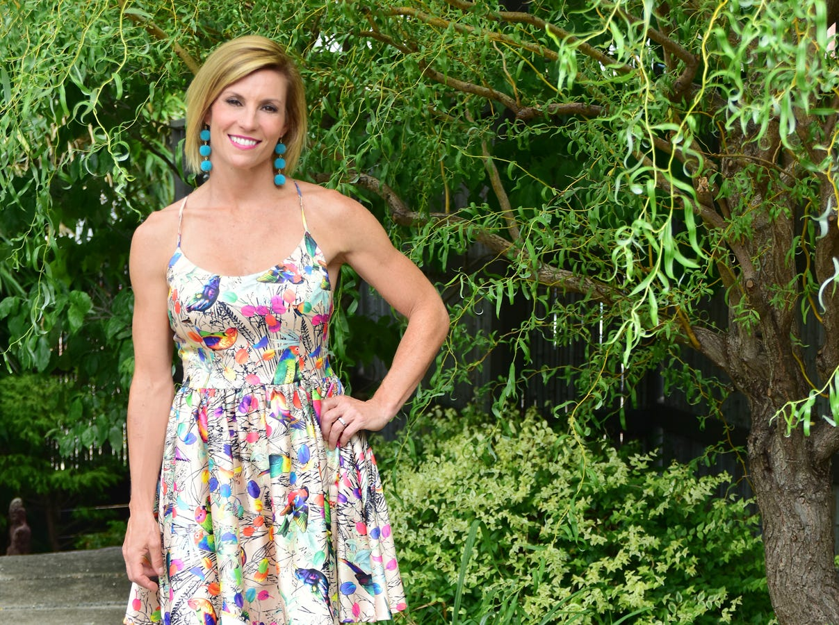 Leah Van Velde was name one of TALK  Greenville's 10 Most Fashionable.