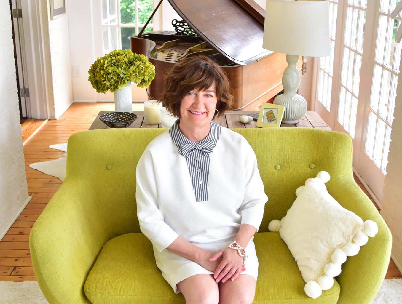 Kathy Harris was the 15 Minutes With feature for the August issue of TALK.