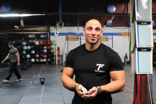 Matt Cable after a workout at Big Sky CrossFit