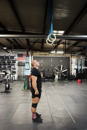 Matt Cable working out at Big Sky CrossFit
