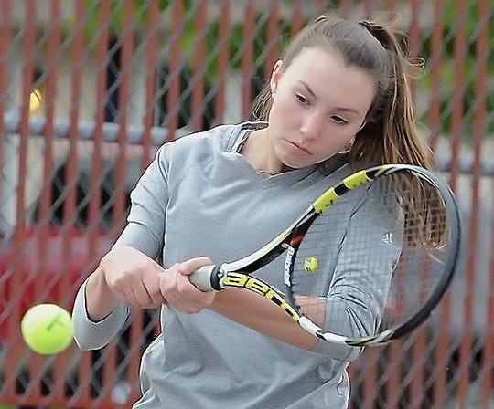Northwestern hoops standout Madison Layden also plays tennis for the Tigers.