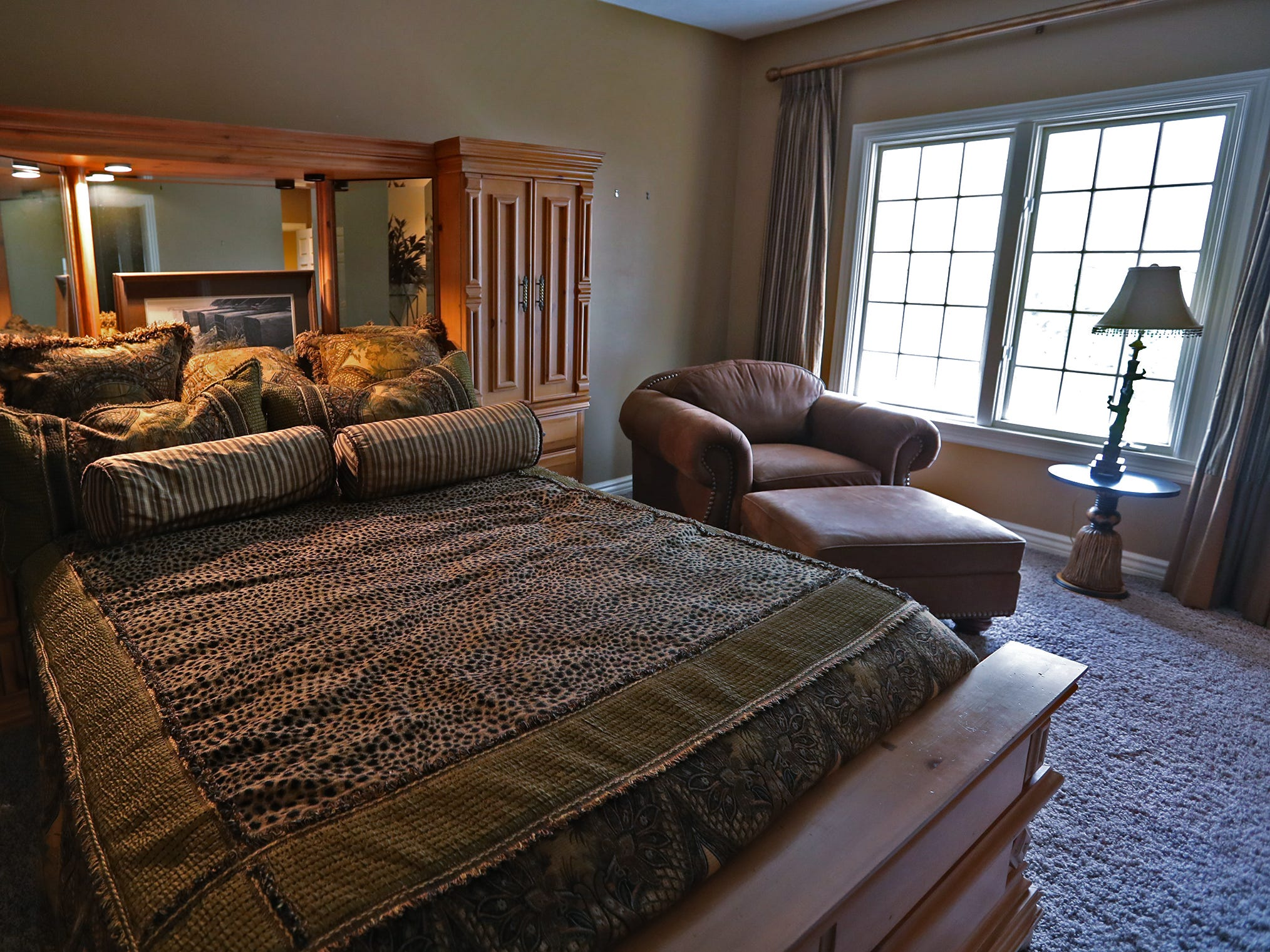 This is a bedroom in the home at 1270 Laurelwood Ct. in Carmel, Friday, Dec. 28, 2018.