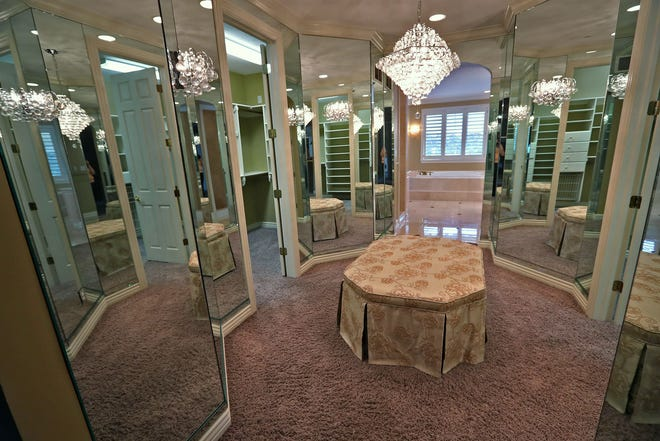 This is the master closet in the home at 1270 Laurelwood Ct. in Carmel, Friday, Dec. 28, 2018.