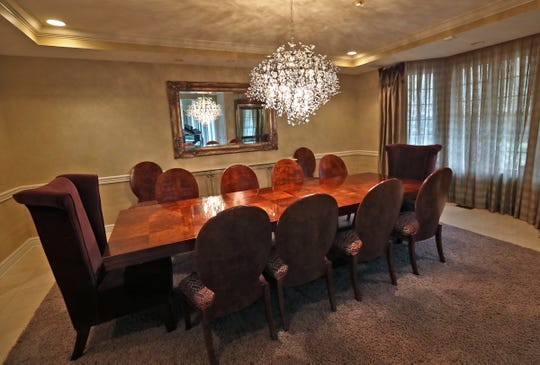 This is the dining room in the home at 1270 Laurelwood Ct. in Carmel, Friday, Dec. 28, 2018.