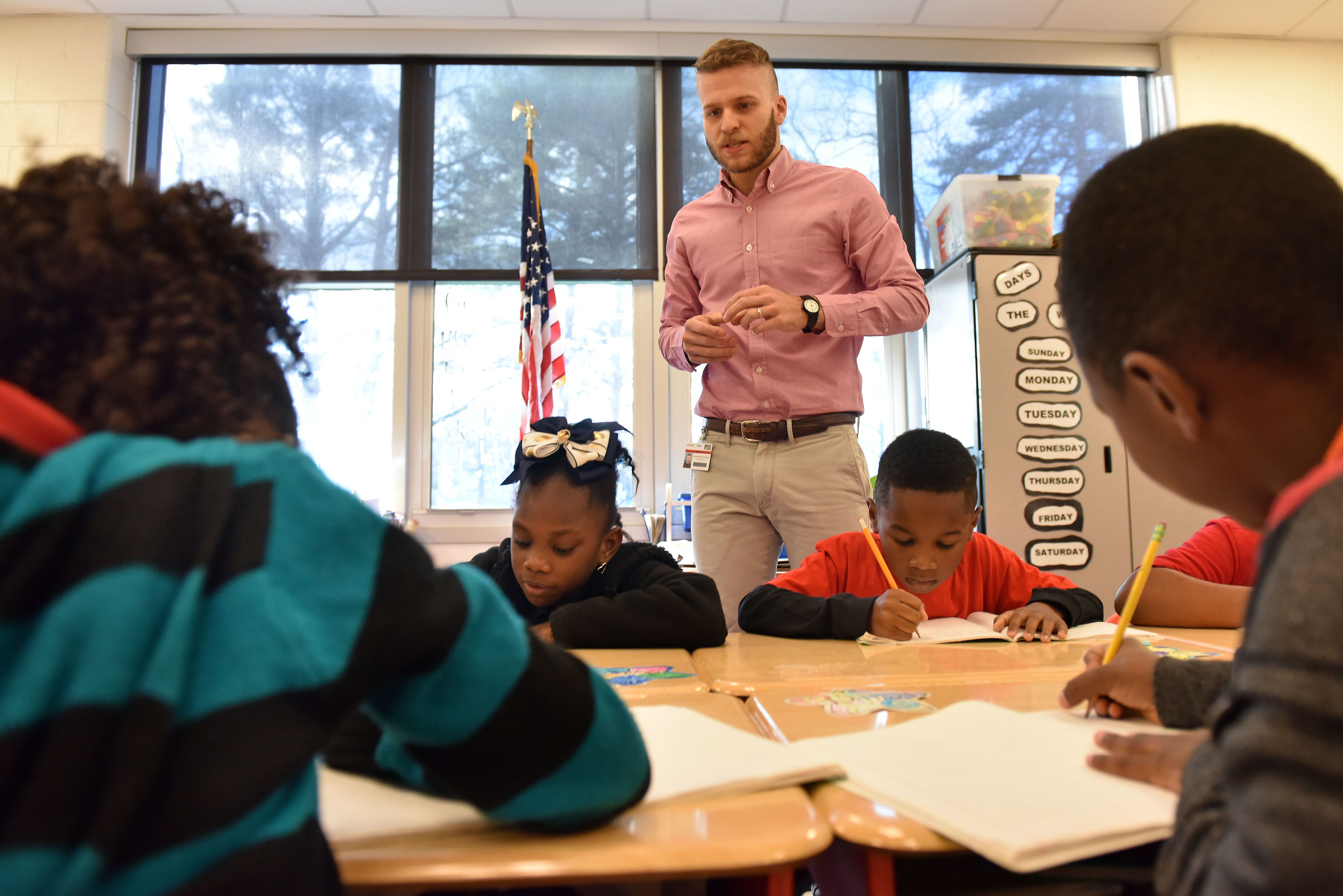 The National Education Association rates Mississippi last among states in teacher salary. The Mississippi Department of Education says teachers made an average of $44,659 in the 2016-2017 school year, including local salary add-ons.