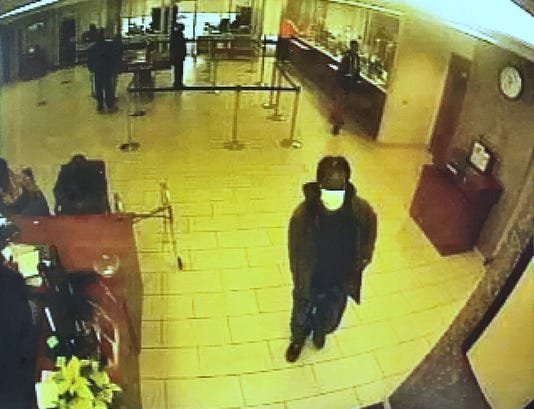 Attempted bank robbery