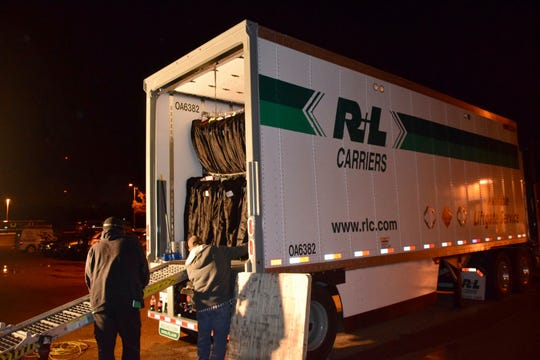 The Munford High School Band is one of only five high school bands from across the nation and the only Tennessee band chosen to perform at the annual New Year's Day Tournament of Roses Parade. R&L Transportation transported all the band's equipment on December 18.