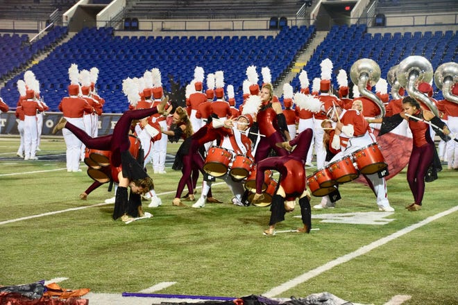 The Munford High School Band is one of only five high school bands from across the nation and the only Tennessee band chosen to perform at the annual New Year's Day Tournament of Roses Parade.