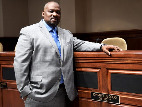 File photo of Jackson City Councilman Johnny Lee Dodd (District 2)