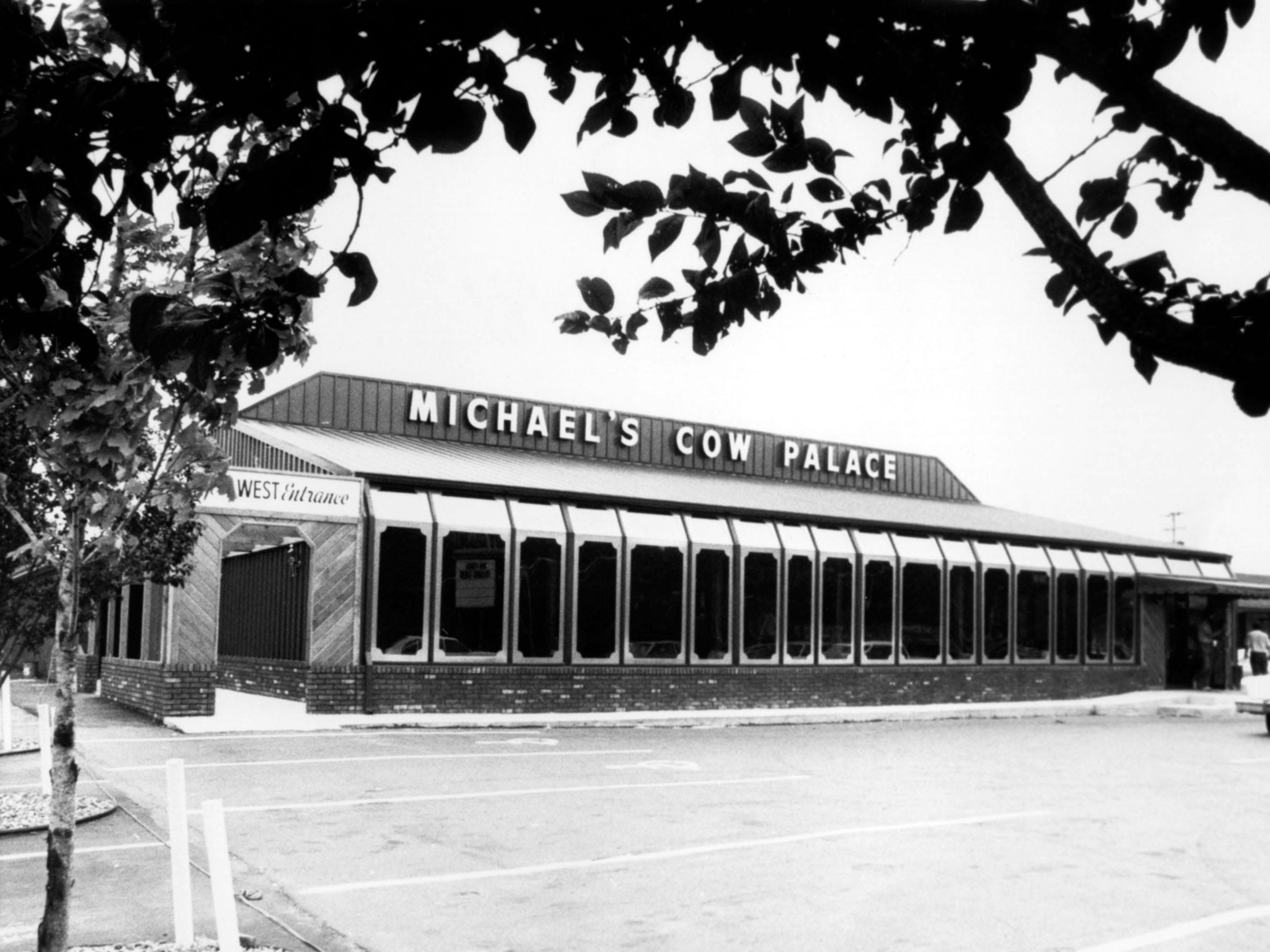 Michael's Cow Palace at 7049 Kington Pike in 1981.