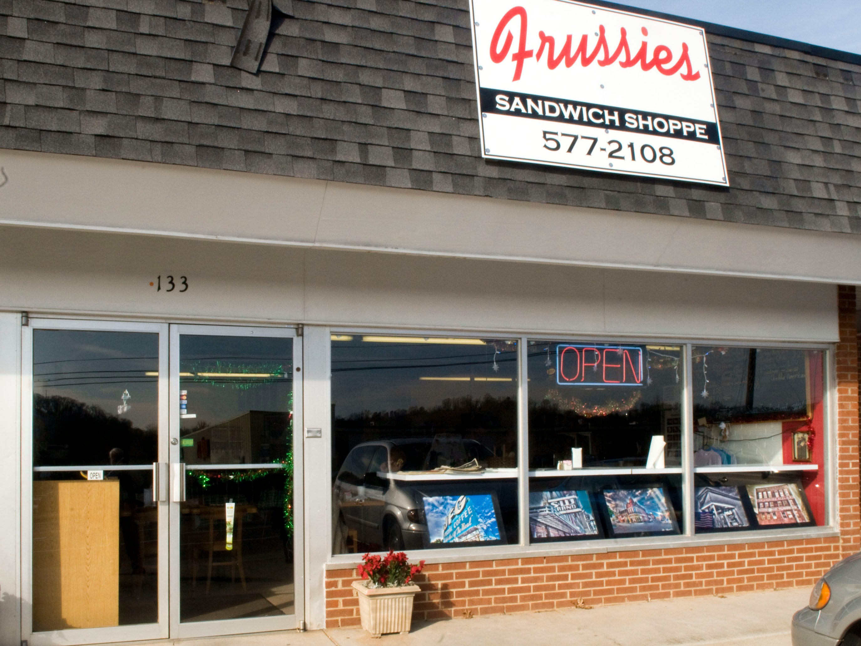 Frussie's sandwich shop on Moody Ave in South Knoxville in 2010.