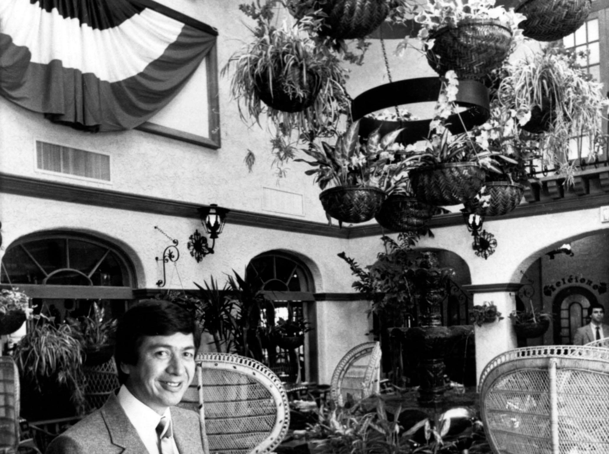 Ramon Gallardo of Casa Gallardo on Bearden Hill in 1981.