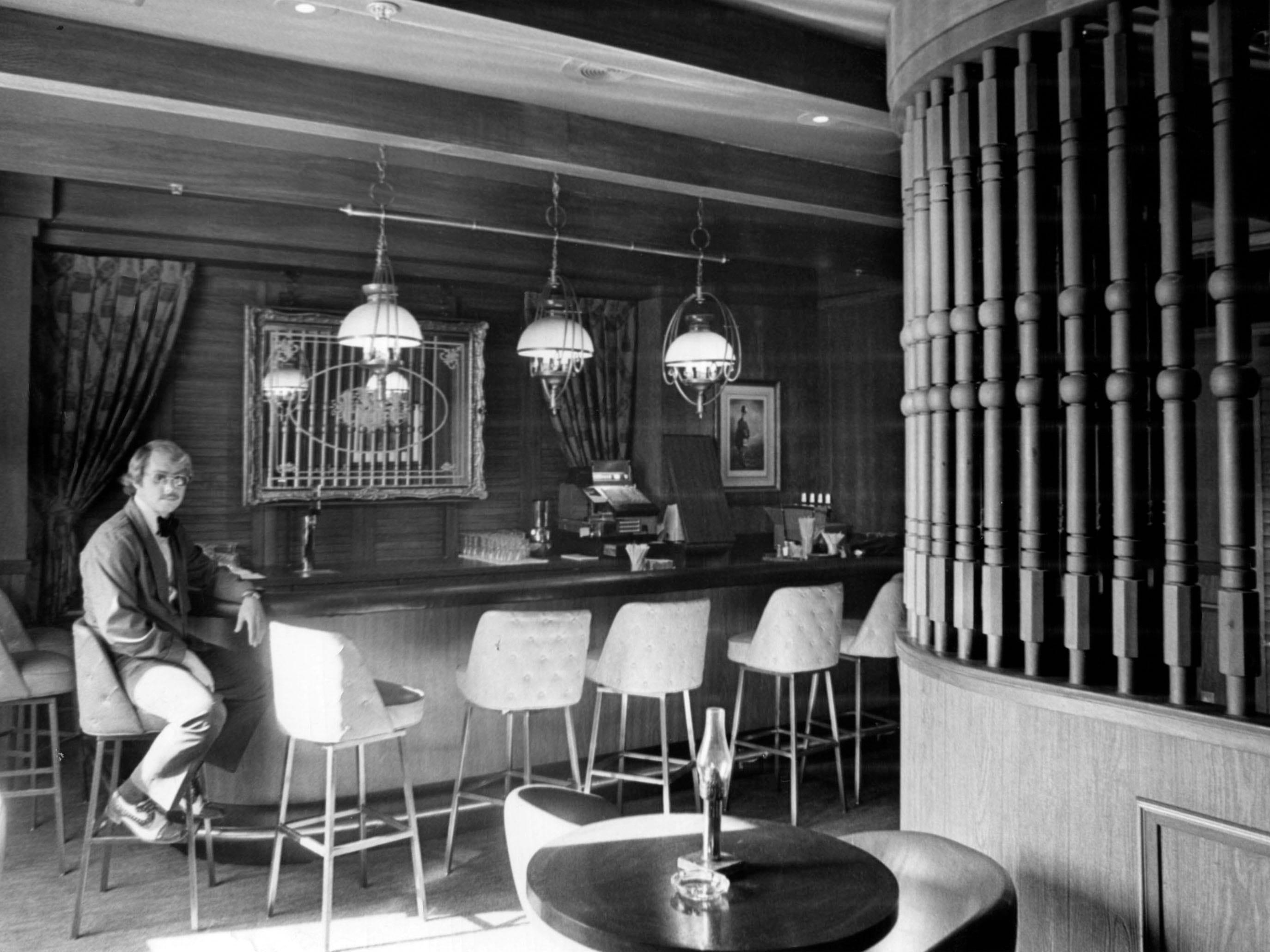 Regas Restaurant in 1973.