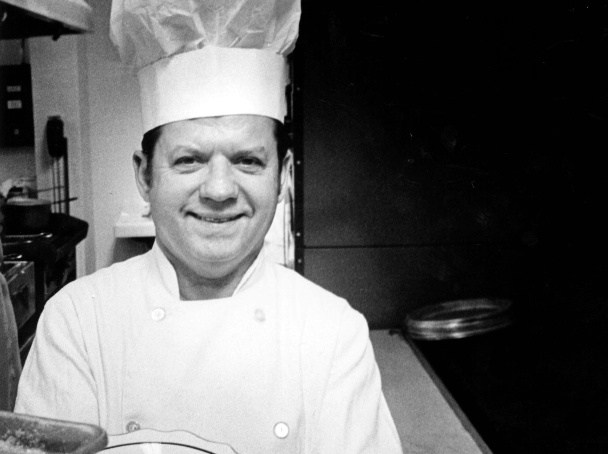 Arthur Peroulas of Arthur's Steak and Lobster in 1974. The restaurant was at 4661 Broadway.