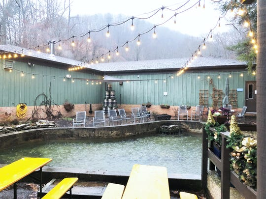 Clinch River Brewing is located in the former TVA Aquatics Laboratory and boasts a trout pond in the beer garden.