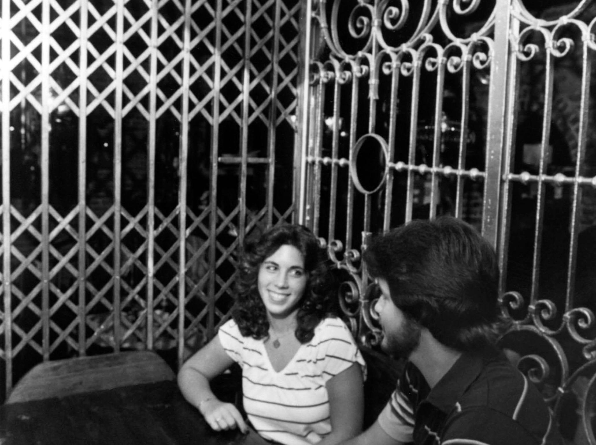 Connie Kotsianas and Rick Norman at Darryl's 1879 in 1979.
