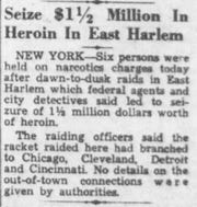 An article from the Nov. 18, 1952 Lancaster Eagle-Gazette.
