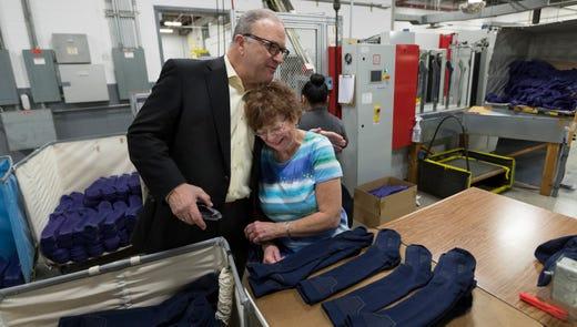 A survivor in a tough industry, sock-maker Wigwam Mills