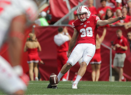 Zach Hintze, who was a kickoff specialist this season, is a candidate to replace place-kicker Rafael Gaglianone next season.