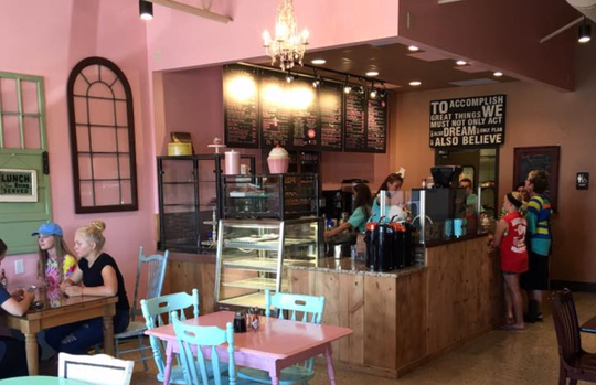 Pink Mocha Cafe owner Heidi Nugent has considered an expansion in the future.