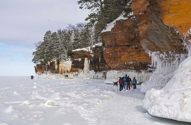 The Apostle Islands Ice Caves