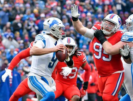 Nfl Detroit Lions At Buffalo Bills