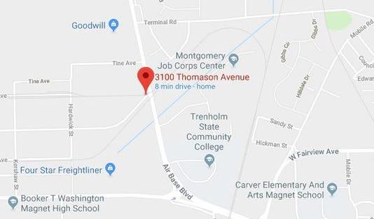 Thomason Avenue Wreck