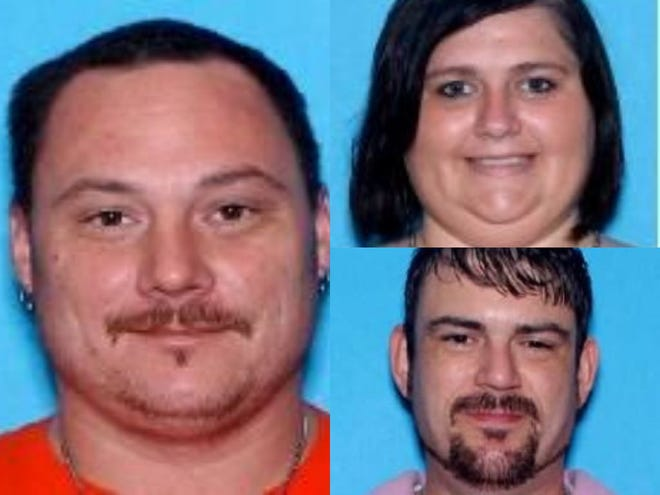 John Dasinger, Priscilla Alley and Michael Alley were arrested in after attempting to smuggle drugs into a Barbour County prison.