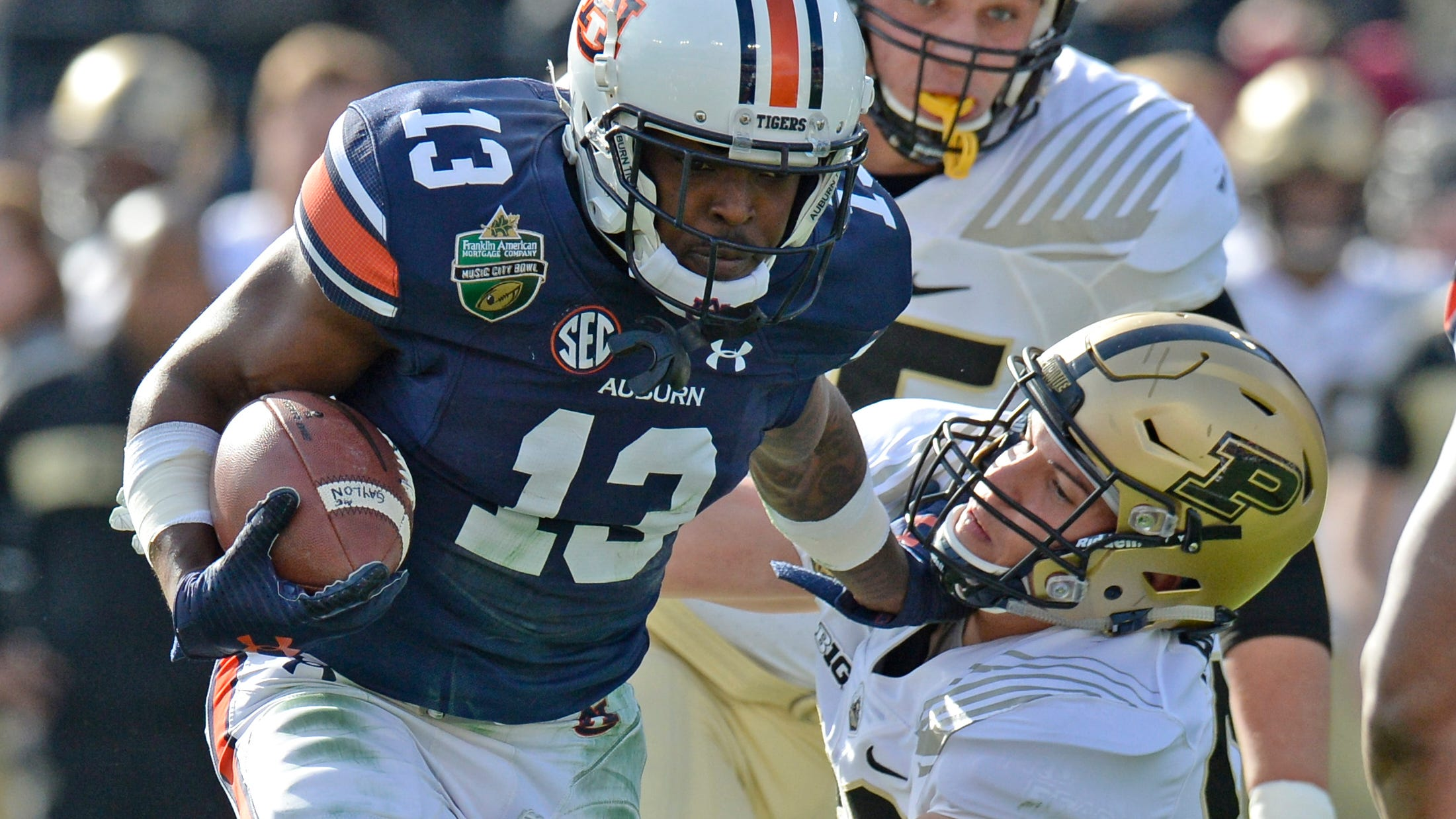 Music City Bowl How Auburn Tigers Crushed Purdue Boilermakers 63 14
