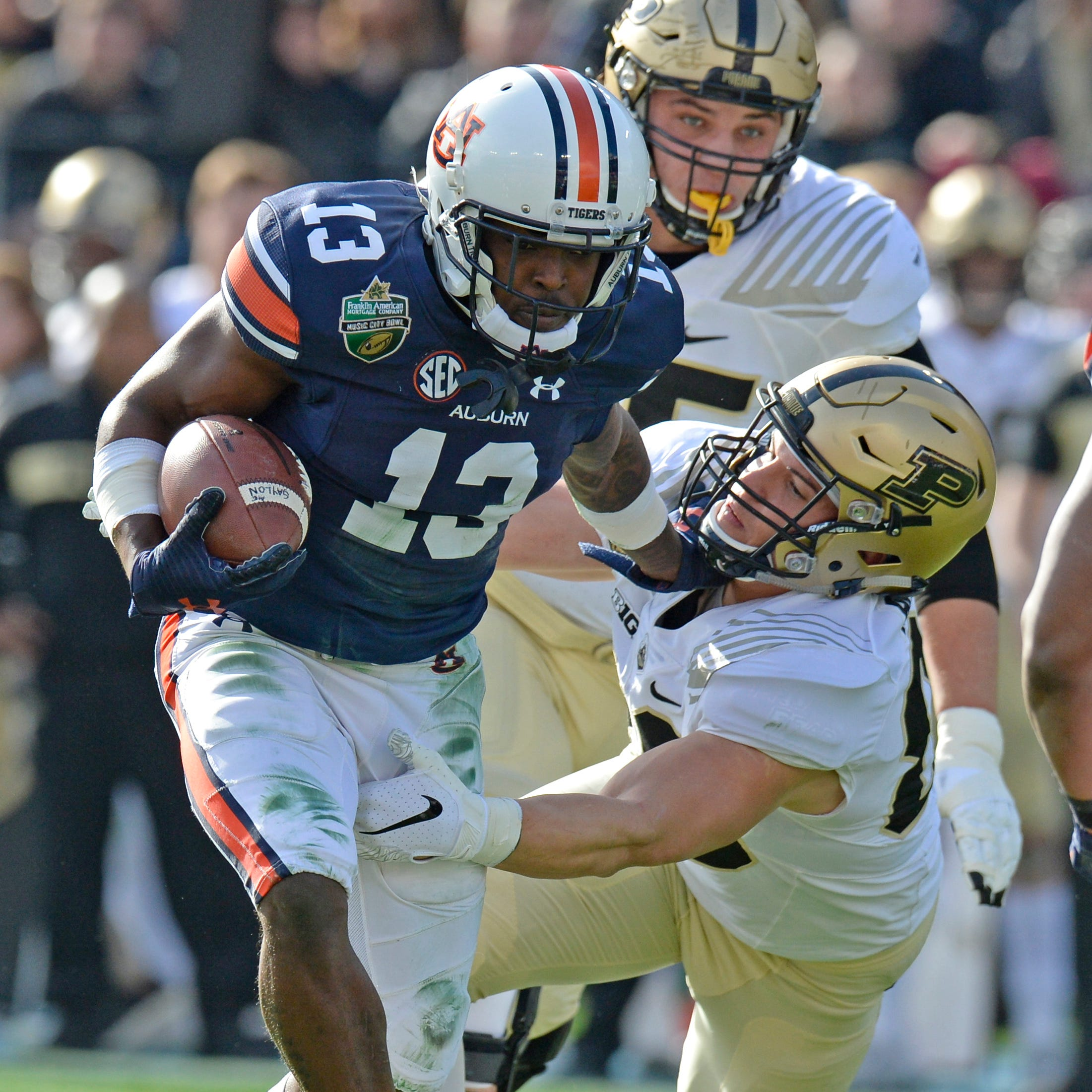 Music City Bowl: How Auburn Tigers crushed Purdue Boilermakers 63-14