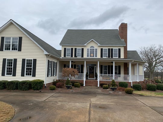California residents John and Jennifer Cataldo purchased this home at 1584 Old Hillsboro Road in Franklin and are working with designer Guy Land to renovate it.