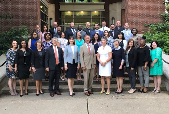 The Governor's Academy for School Leadership participants last year.