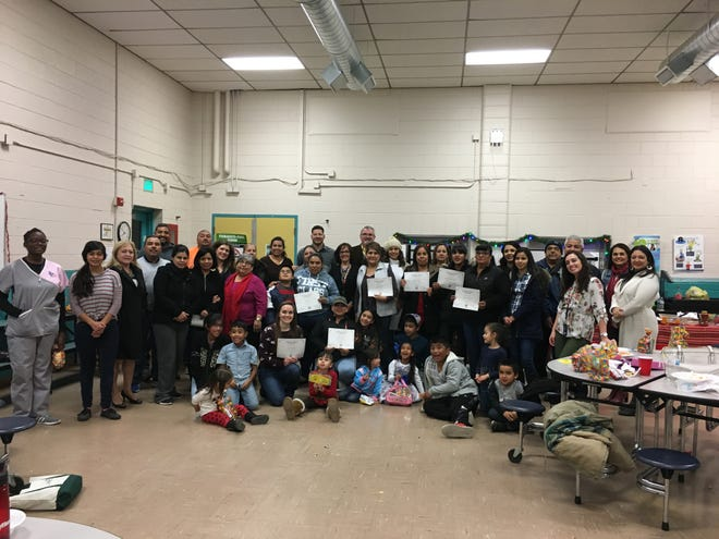 At this semester's three graduation ceremonies, held at CrossRoads, Picacho Middle School, and Doña Ana Elementary, 106 participants received diplomas of completion from the program.