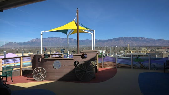 Pete's Playground is at the Child Life area of UNM Children's Hospital.